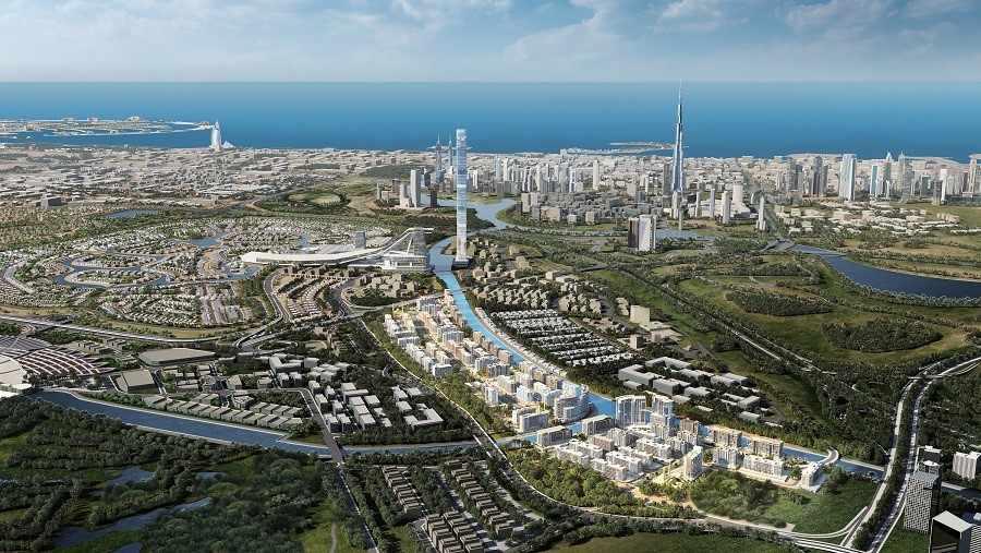 dubai, lagoon, azizi, demand, project,