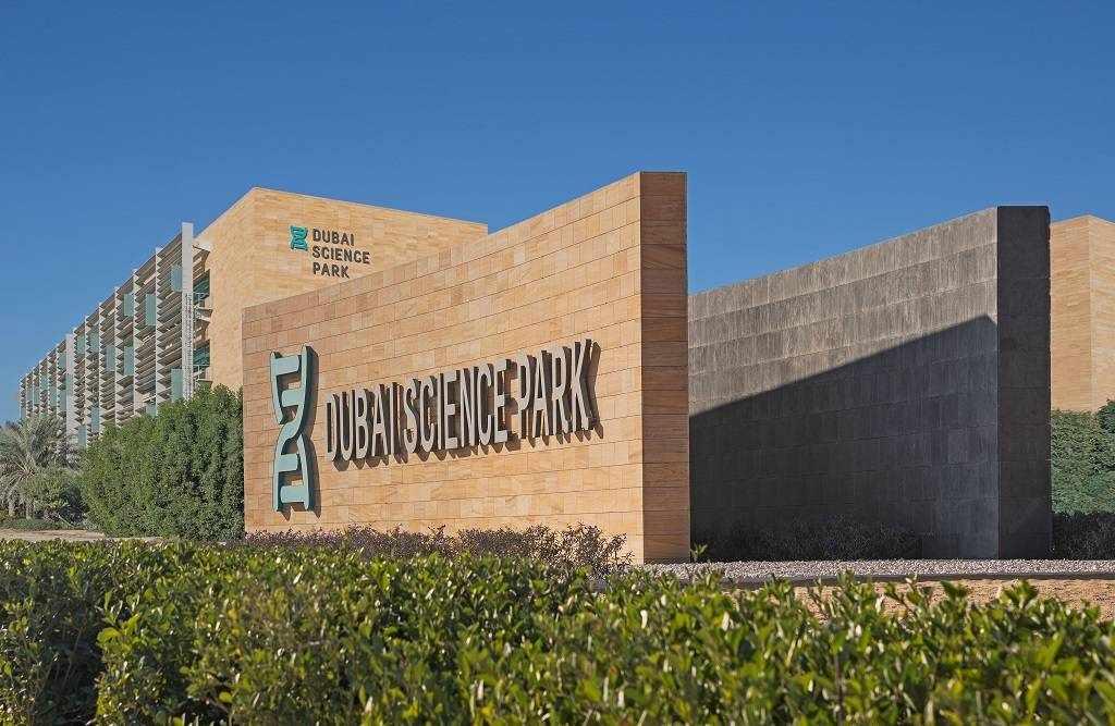 dubai science park companies healthcare