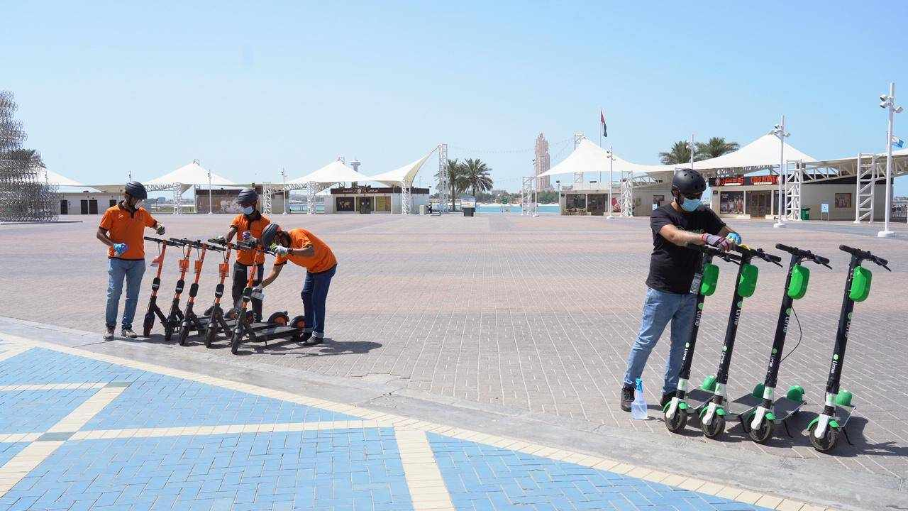 dubai scooters laws mopeds operation
