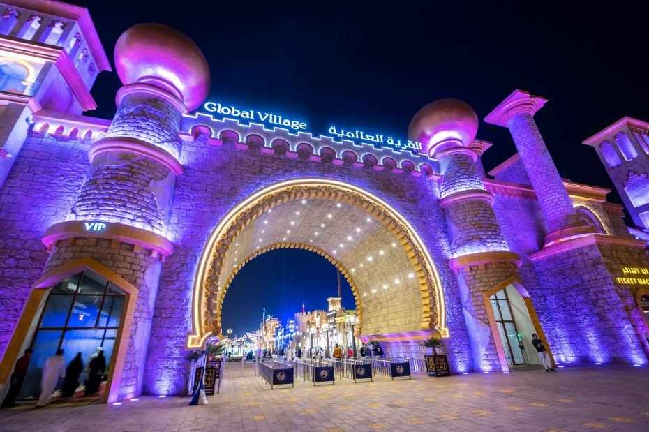 dubai season village global pics