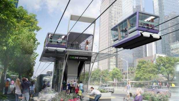 dubai transport system ropeway speed