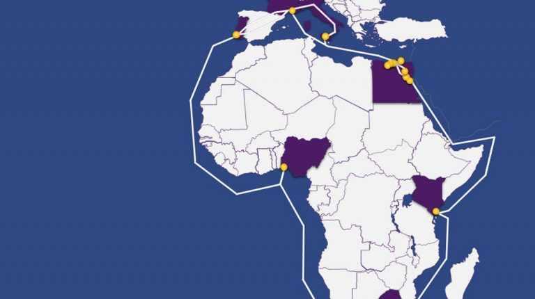 egypt africa system subsea telecom