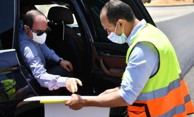 egypt cairo president roads eastern