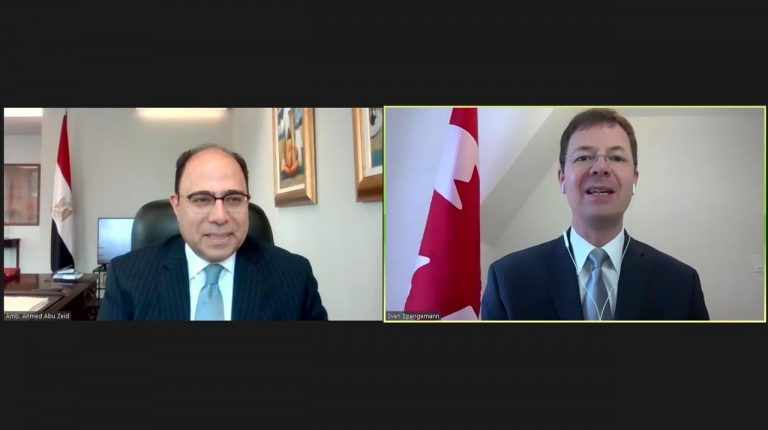 egypt canada relations bilateral issues