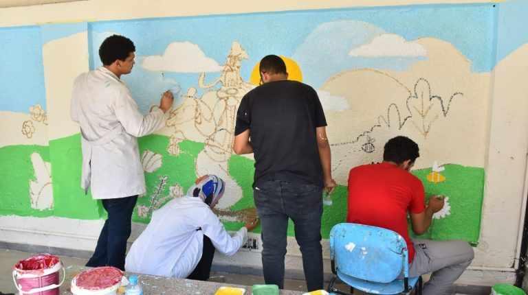 egypt contributes pediatric department renovating
