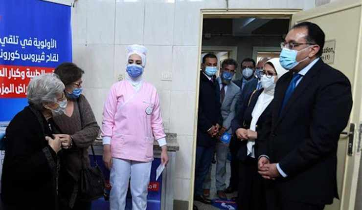 egypt doses covid vaccines madbouly