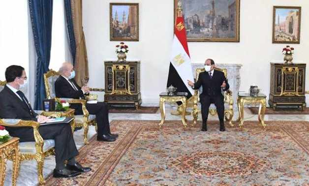 egypt drian french technology sisi