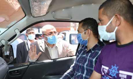 egypt health ministry single masks