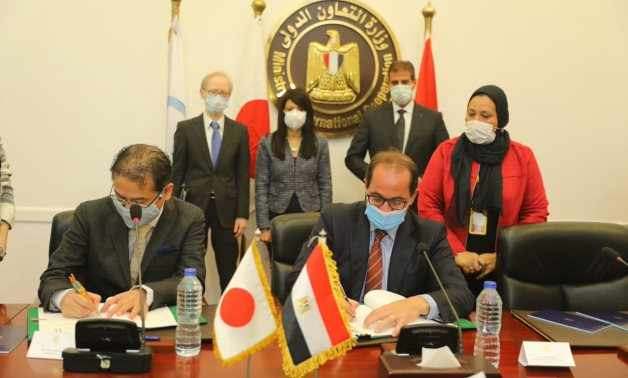 egypt jica agreement finance signed