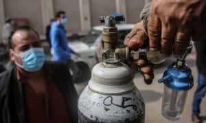 egypt oxygen covid shortage ward