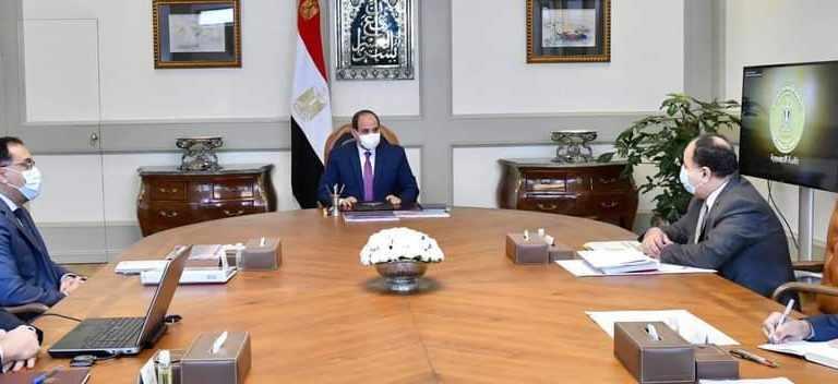 egypt president government performance