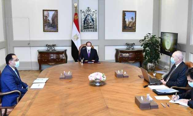 egypt president sczone projects investments