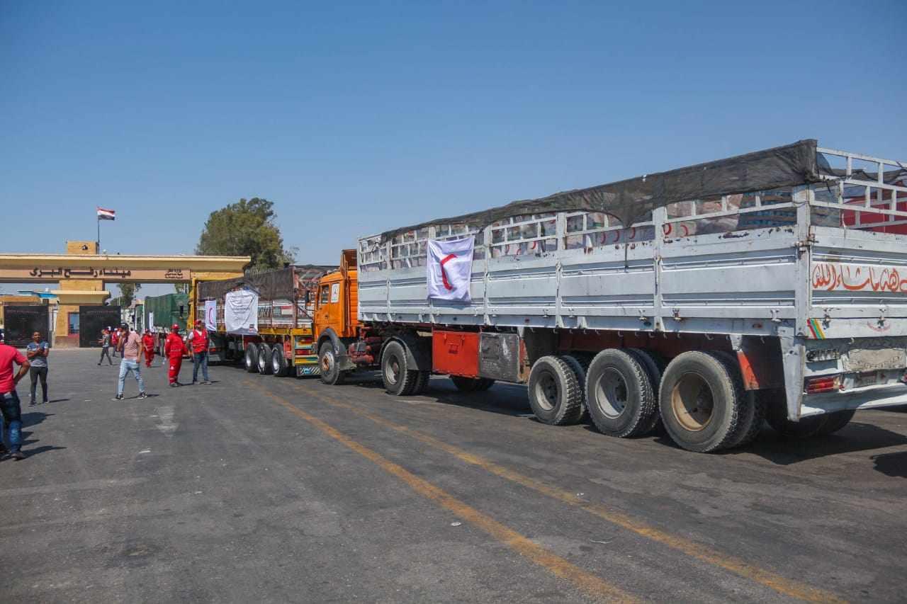 egypt relief fourth aid palestine