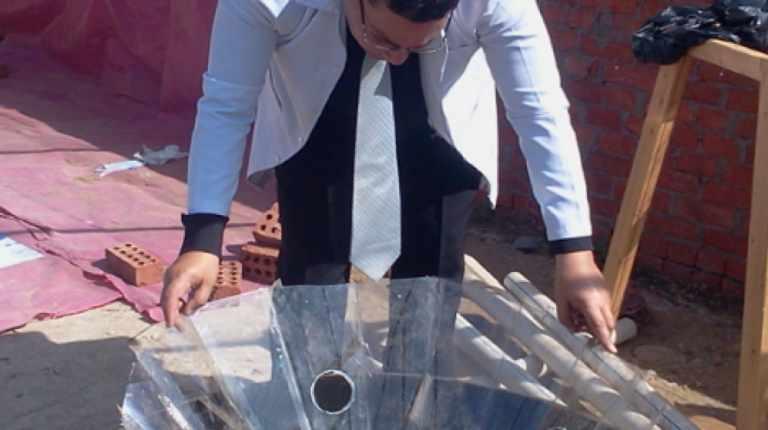 egypt researcher device harvesting rain