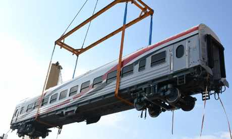 egypt russia railway carriages transmash