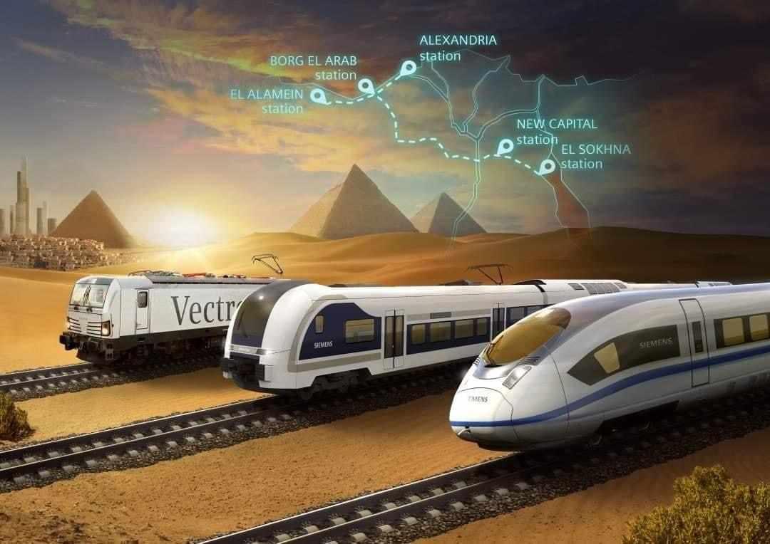 egypt speed train route marsa