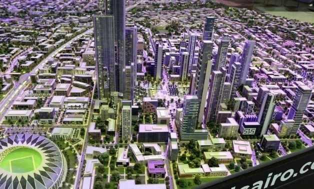 egypt studies administrative capital financial