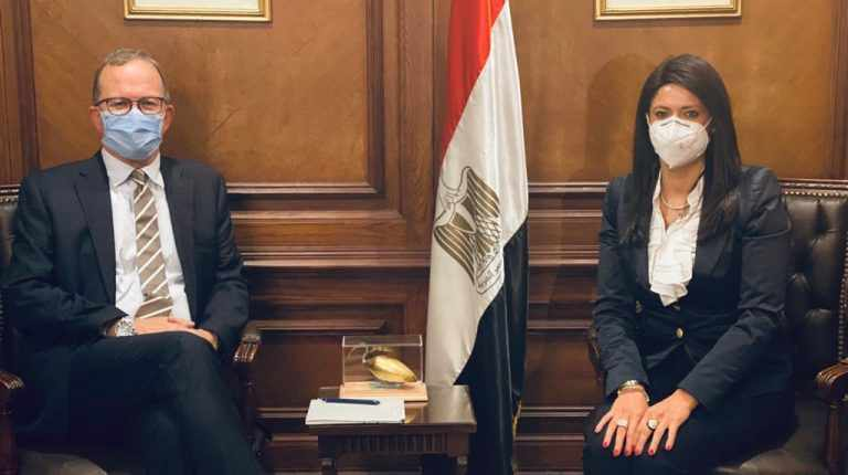 egypt support receives