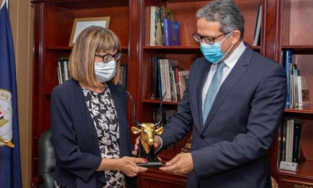 egypt tourism antiquities cooperation serbian