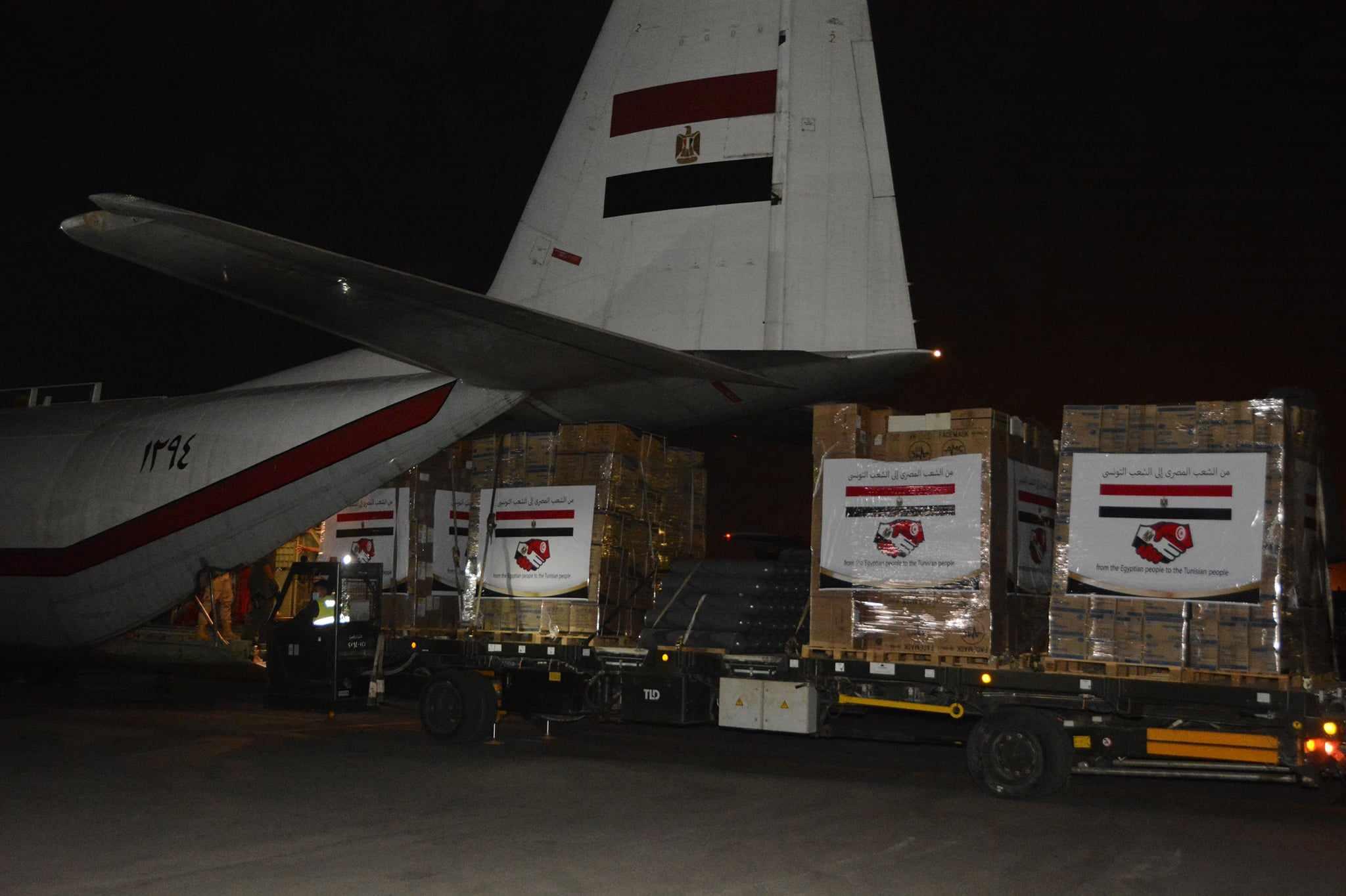 egypt tunisia medical aid sends