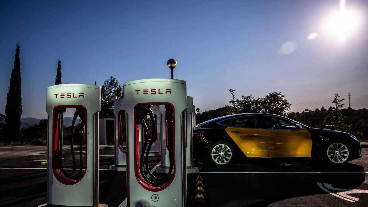 electric car green