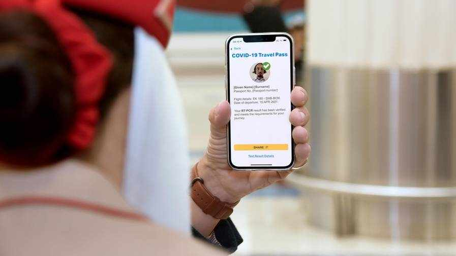 emirates iata digital passport services