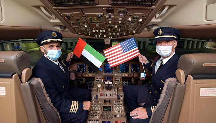 emirates miami flight airlines takes