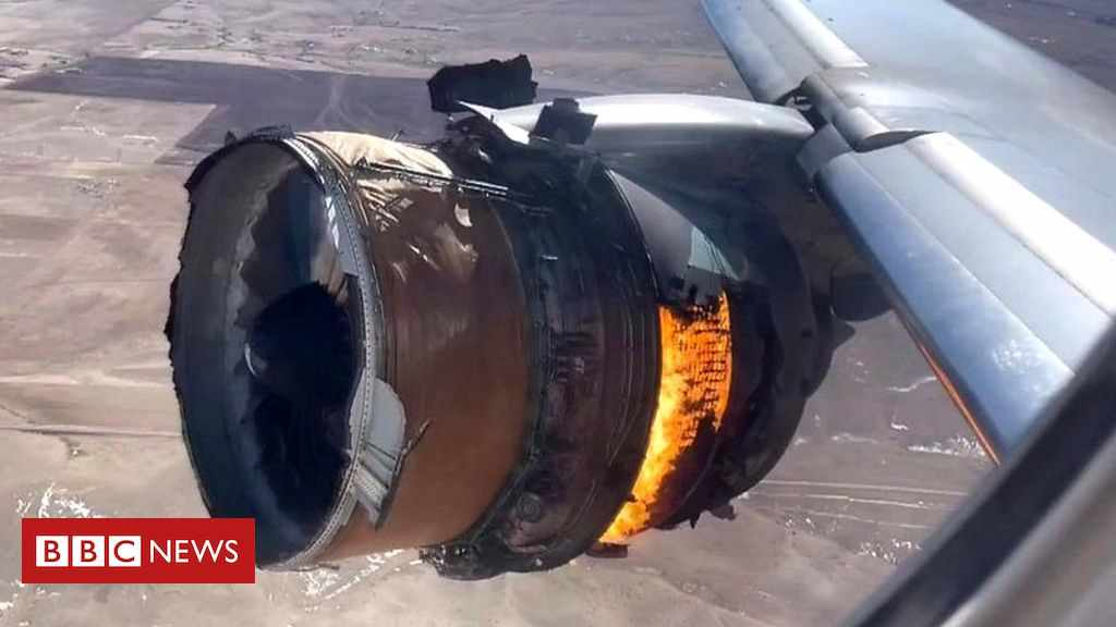 engine metal fatigue denver plane