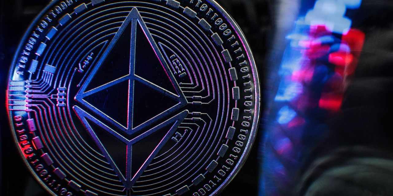 ether ethereum prices mints records
