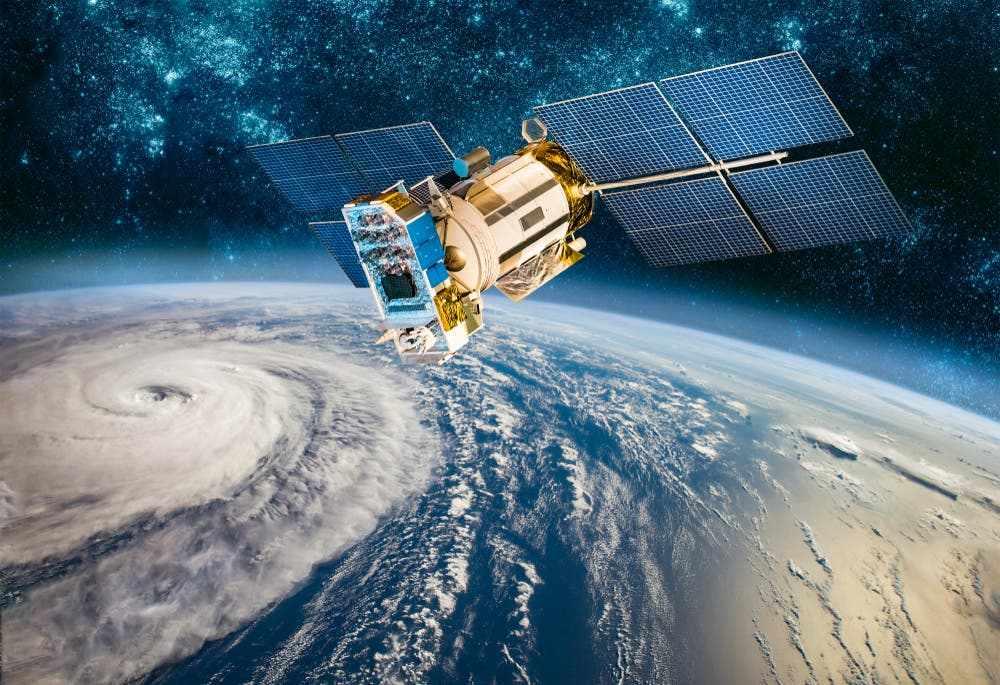 europe rocket satellites crashes satellite