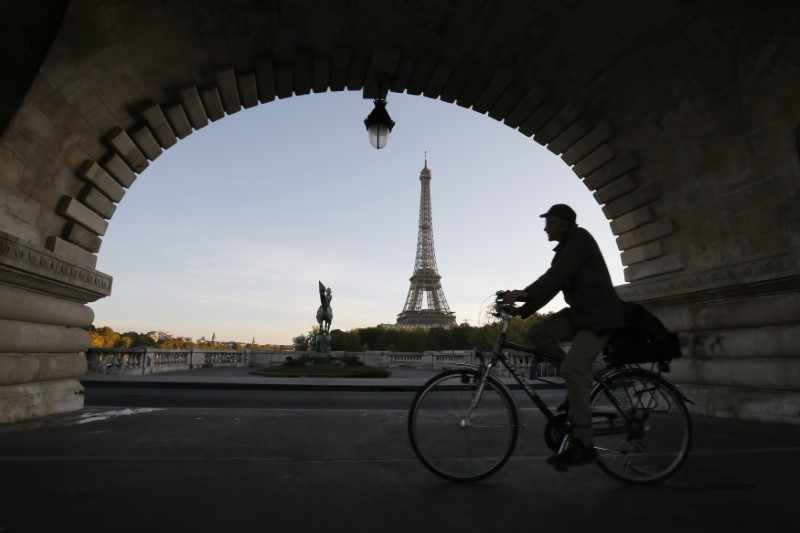 europe stock lower french futures