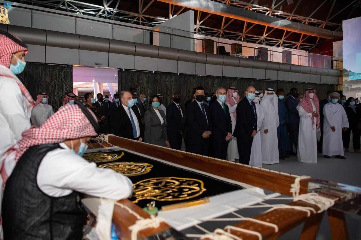 exhibition region makkah projects envoys