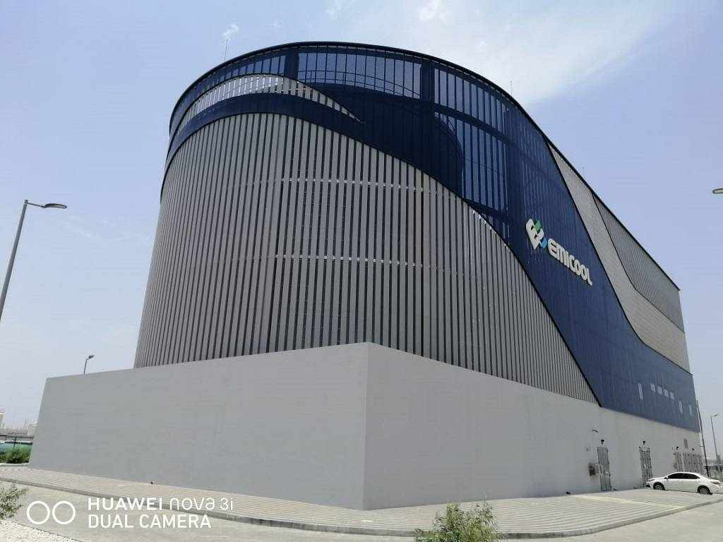 expo cooling plant district emicool