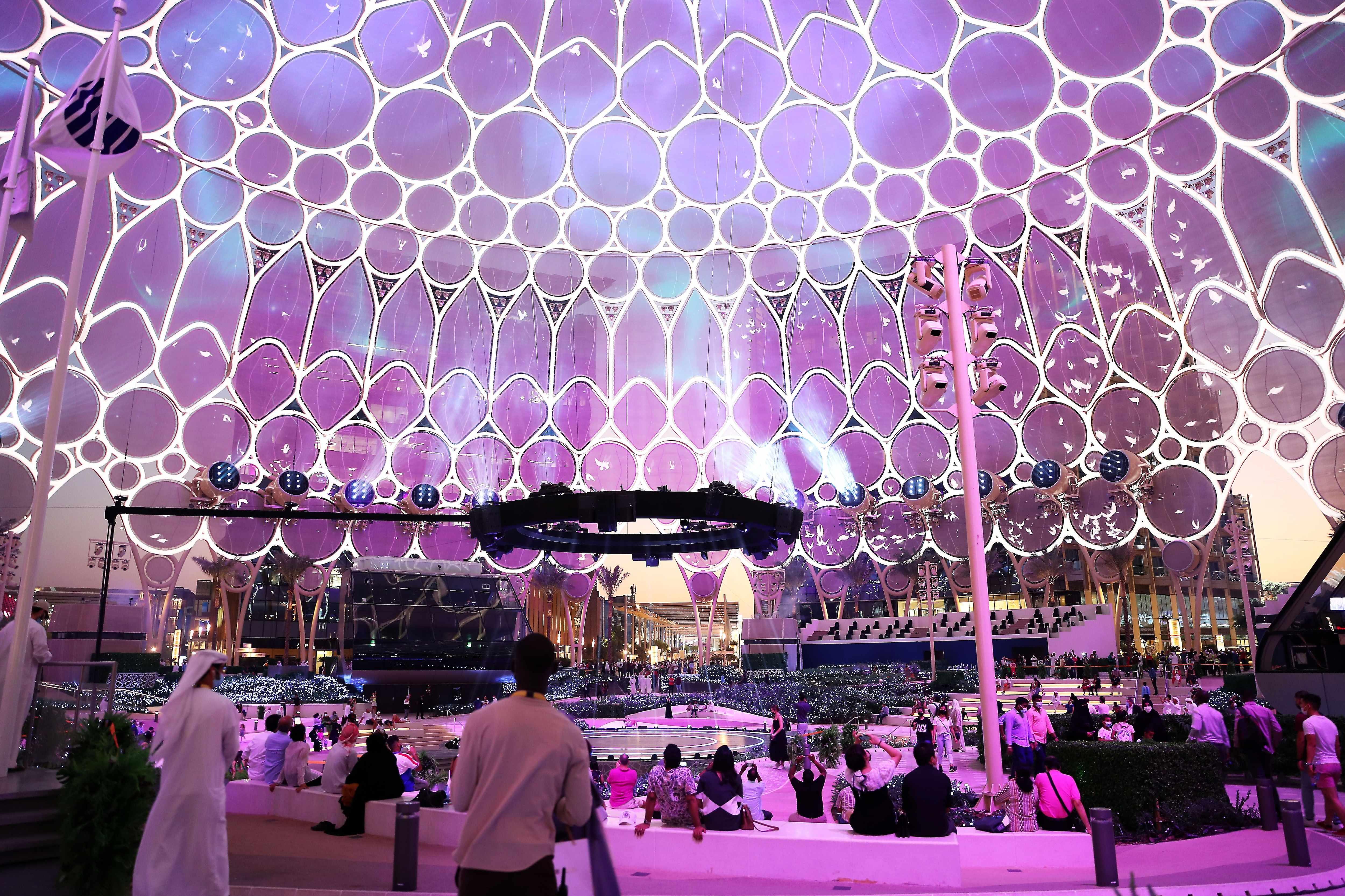 expo, light, show, worth, night,