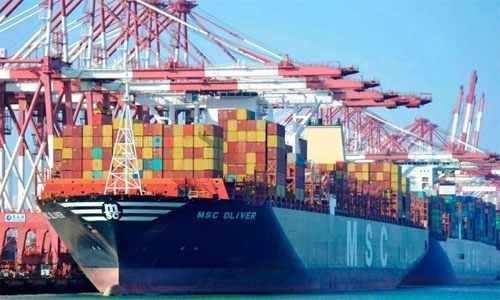 exports national deficit iron