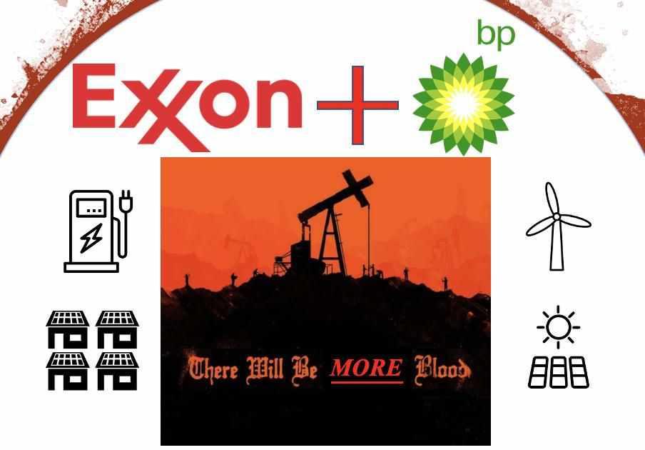 exxon oil demand wealth land