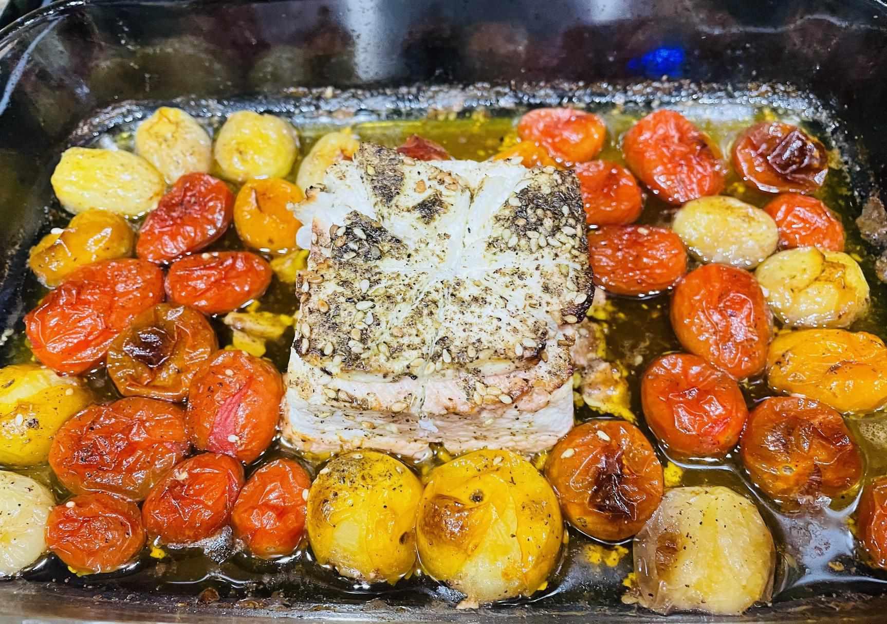 feta baked tomato pasta viral