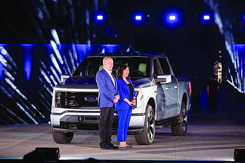 ford electric version selling truck