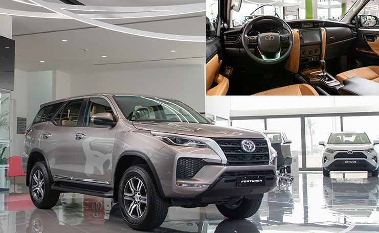 fortuner, toyota, iconic, showroom, updated,