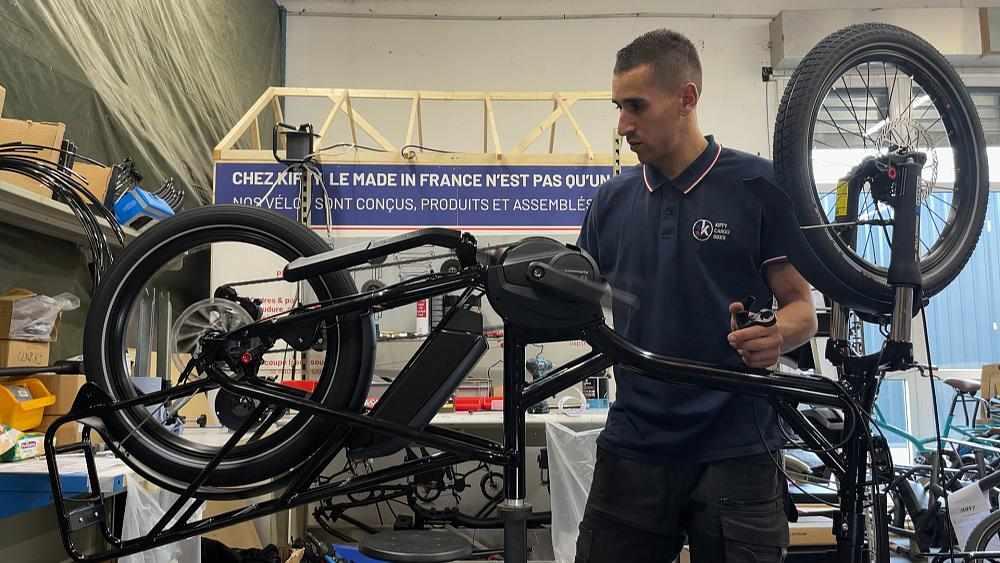 france europe industry bike road