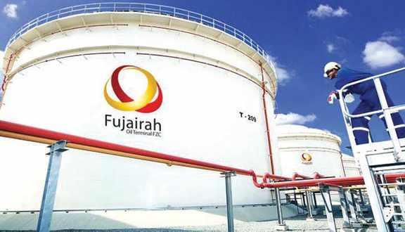 fujairah oil product stocks barrels