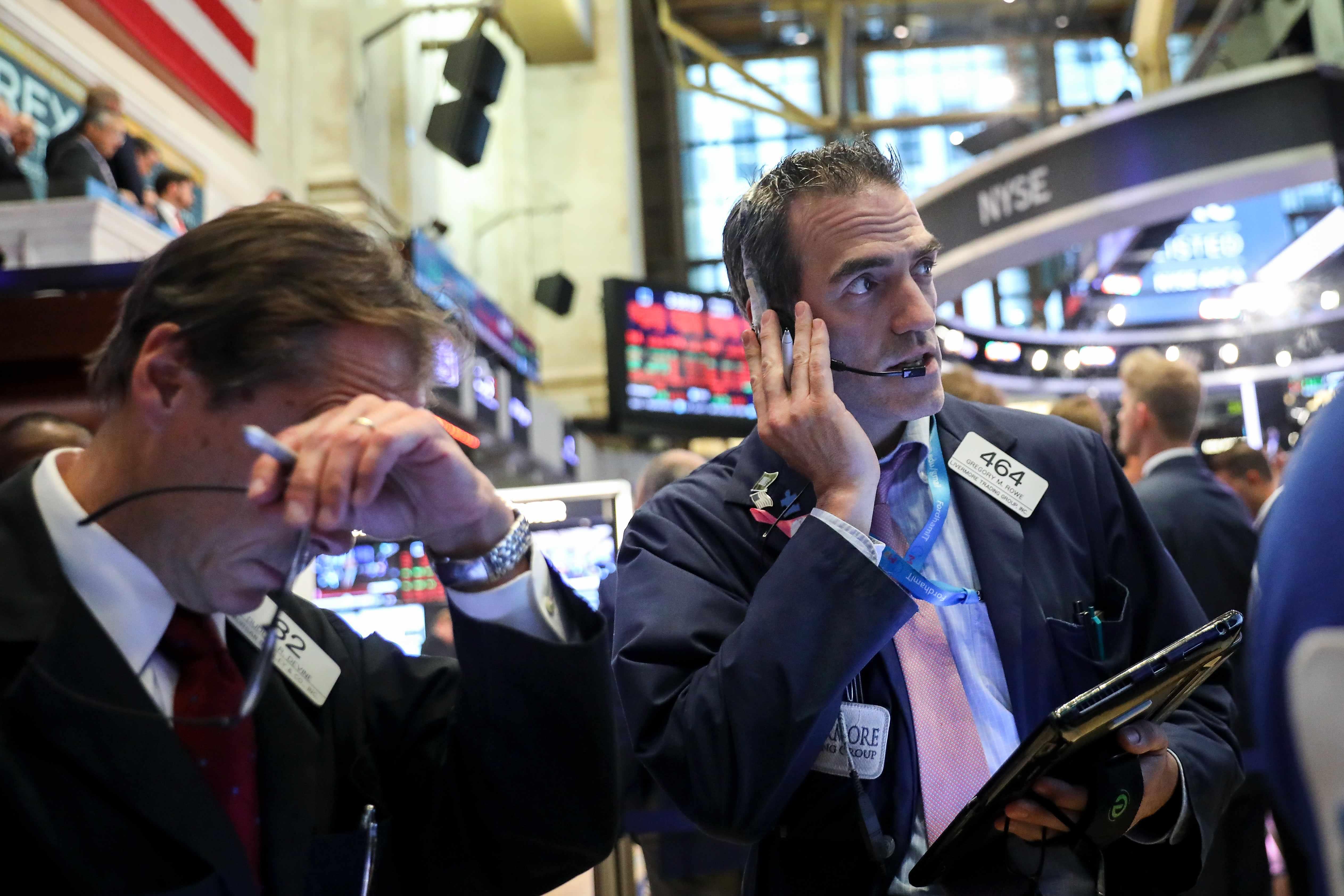 futures, stock, flat, worst, were,