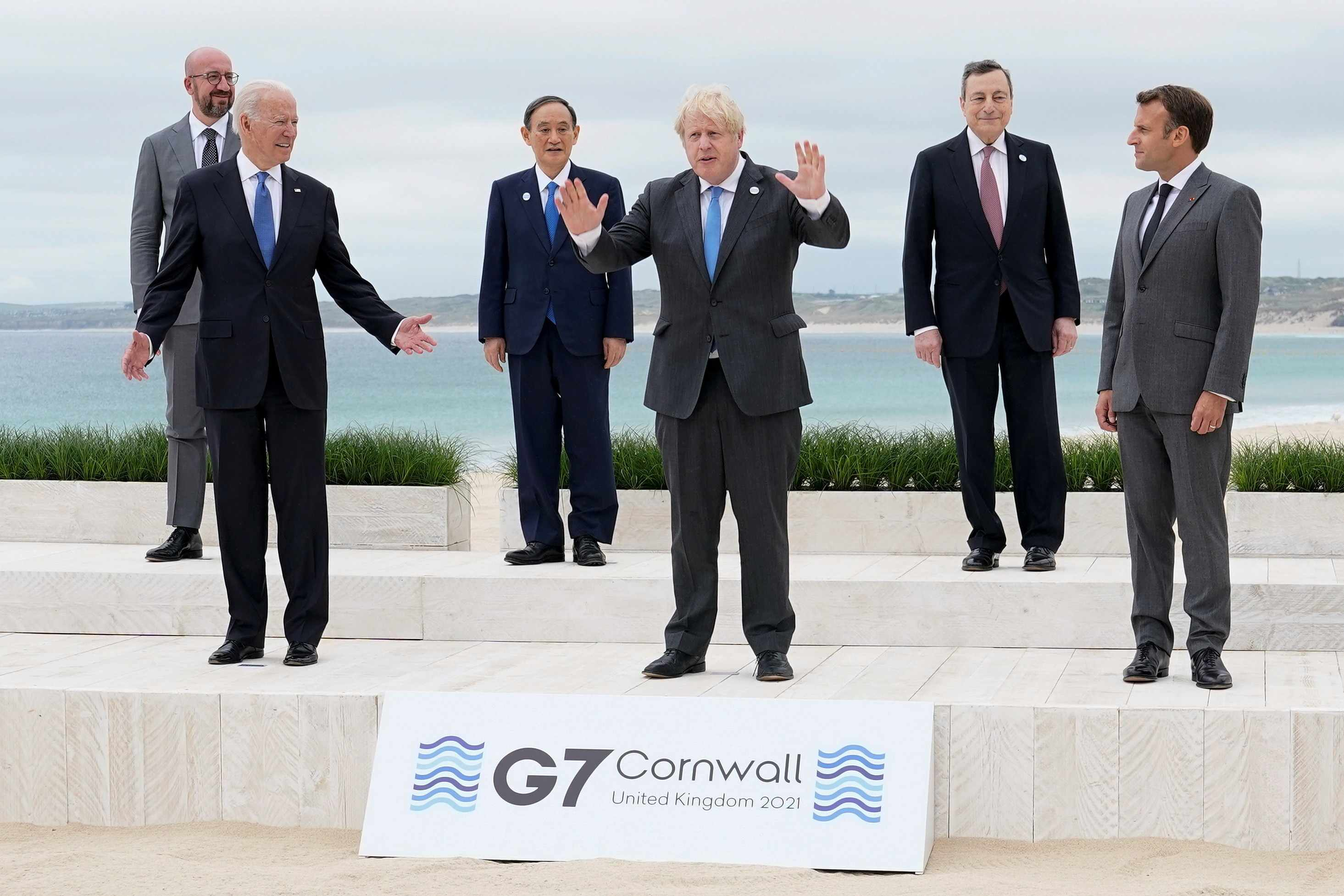 g7 leaders climate challenge world