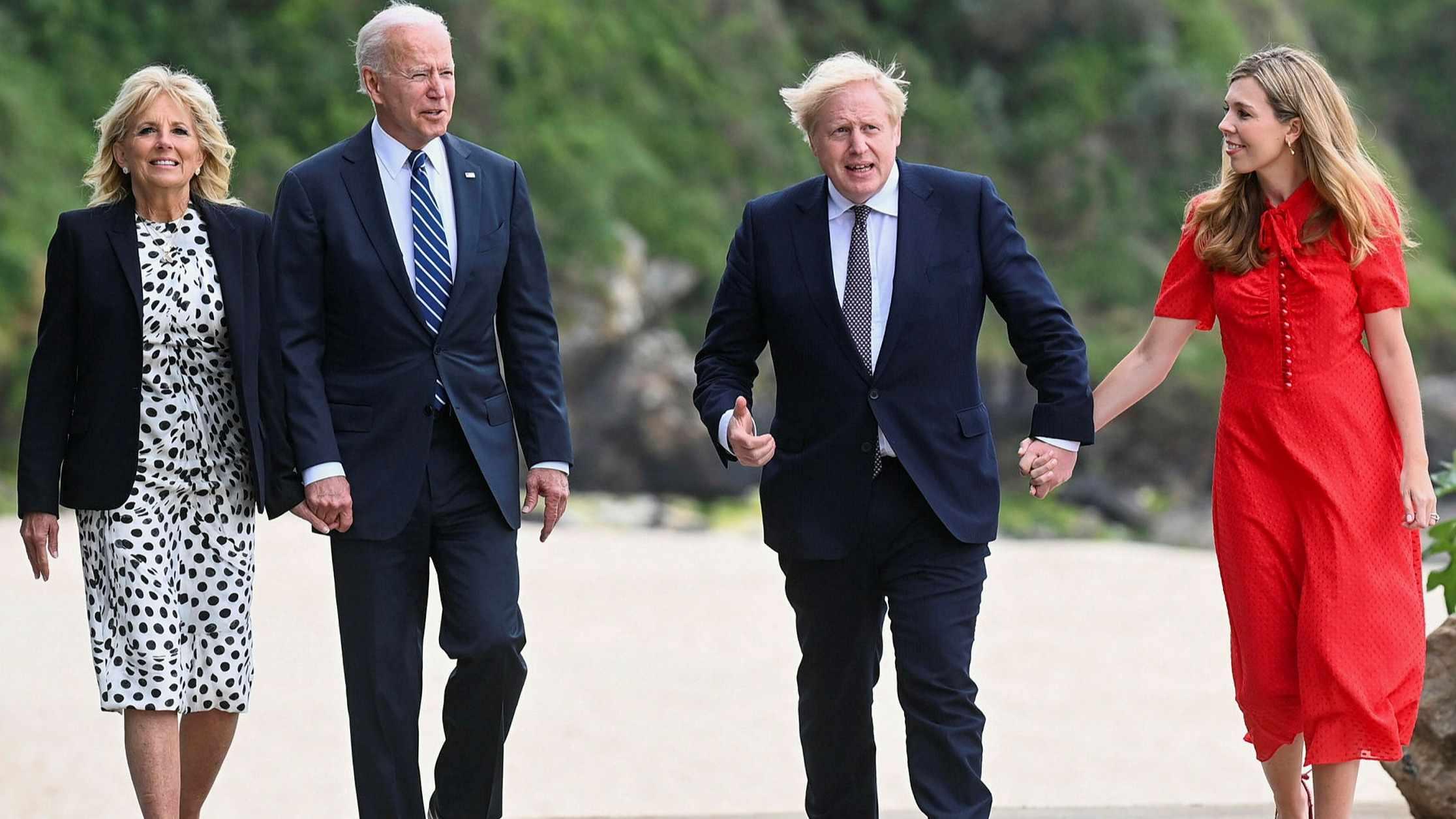 g7 leaders poorer countries pledge