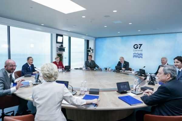 g7 summit french president global