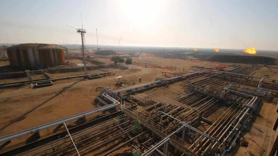 gas basra iraq percent company