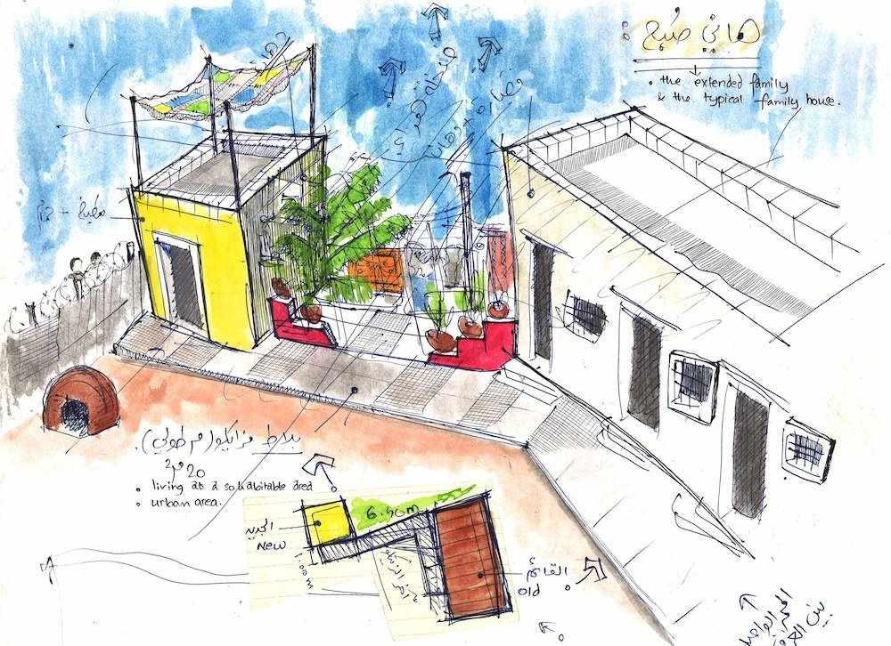 gaza palestinian homes designed self