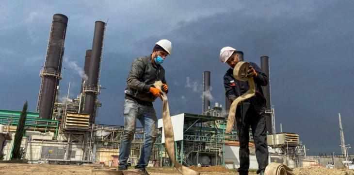 gaza pipeline gas lifeline would