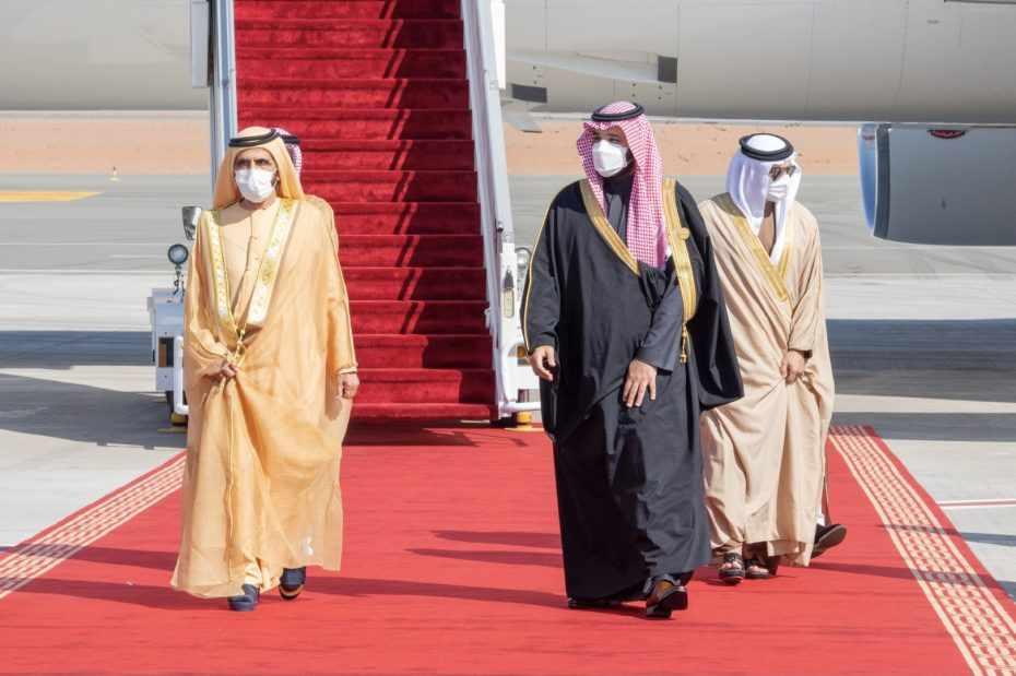 gcc saudi-arabia summit leaders alula