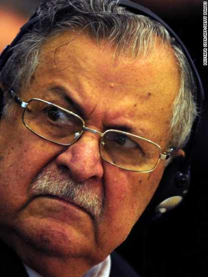 germany iraqi treatment leader talabani